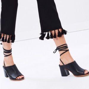 Sol Sana Rango Lace Up Ankle Mule